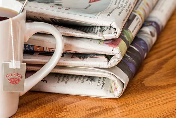 Newspapers obituaries are inspiration for writers.